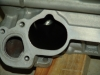 Projects - Porcshe 928 - Single view showing ceramic porting to the intake port