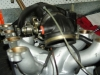 Projects - Porcshe 928 - Underside of manifold with assembled throttle body