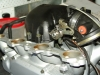 Projects - Porcshe 928 - Underside of manifold with assembled throttle body 2