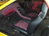 Interior view project race car