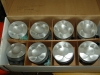 Projects - Porcshe 928 - View of modified early piston sets giving static compression of 11.6