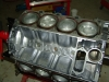 Projects - Porcshe 928 - Pistons in block assembled