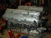Projects - Porcshe 928 - view of engine on stand 2