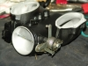 Projects - Porcshe 928 - Side throttle body view