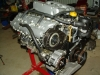 Projects - Porcshe 928 - view of engine on stand 5